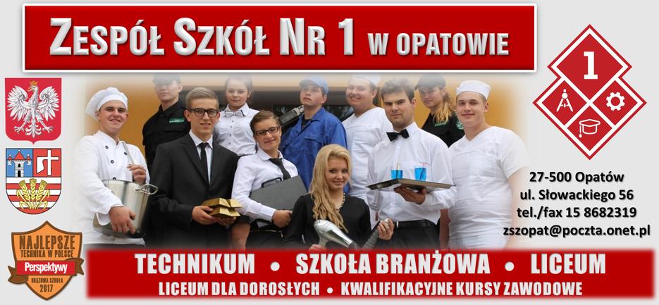 Strona ZS Nr1 w Opatowie